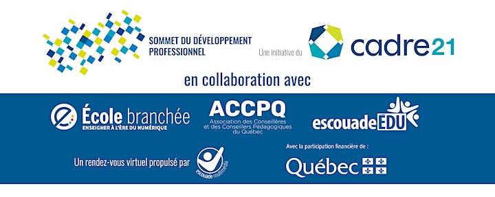 Image de Sommet du développement professionel en éducation au Québec 2021