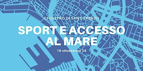 """Blue Talk """"Sport e Accesso al mare"""" e  Violinizzo biglietti"""