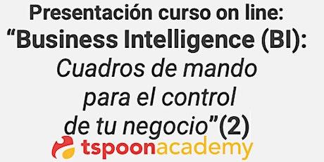 """Curso """"Business Intelligence: Cuadros de mando  de control del negocio""""(2) entradas"""