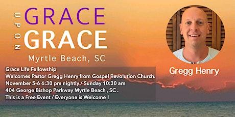 Gregg Henry/ Gospel Revolution Church tickets