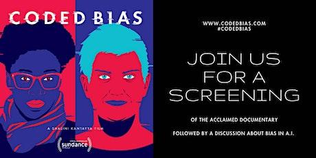 """Coded Bias"" film screening and Filmmaker Q&A tickets"