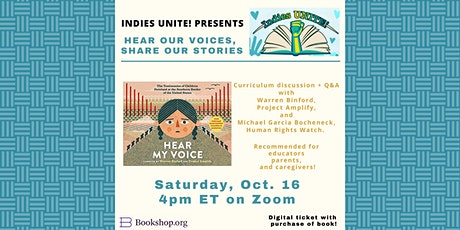 Indies UNITE! for Caregivers and Educators:Hear My Voice/Escucha mi voz tickets