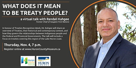 What does it mean to be Treaty People? tickets