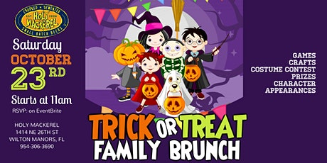 Trick or Treat Family Brunch at Holy Mackerel tickets