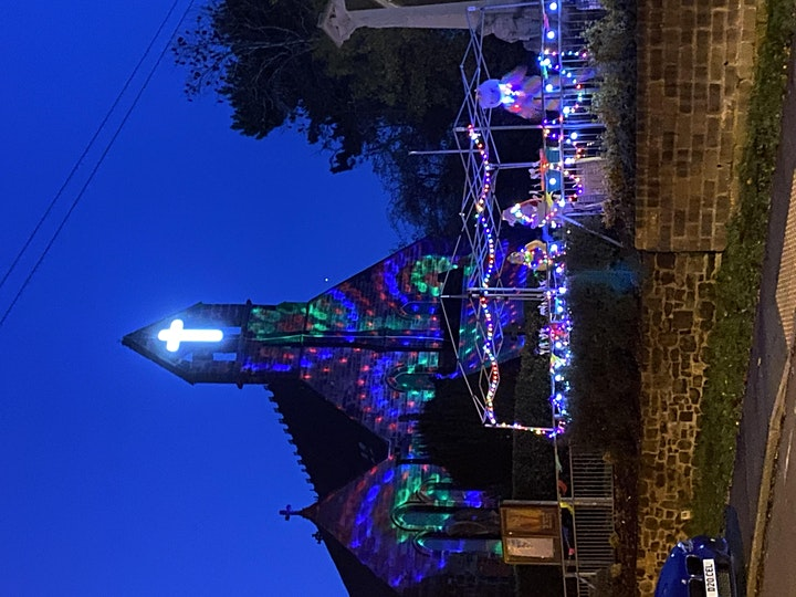 St Peter's Church Forsbrook Light Night image