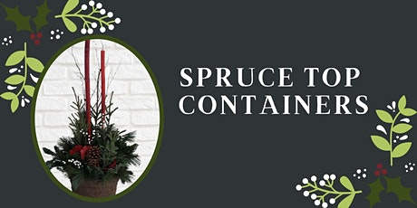 Spruce Top Containers tickets
