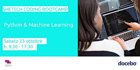 SheTech Coding Bootcamp: Python & Machine Learning tickets