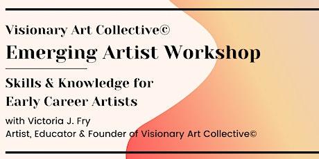 Emerging Artist Workshop 10/24 tickets