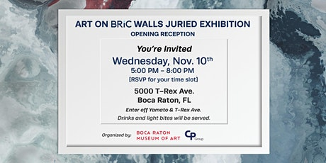Art On BRiC Walls Juried Exhibition   Opening Reception tickets