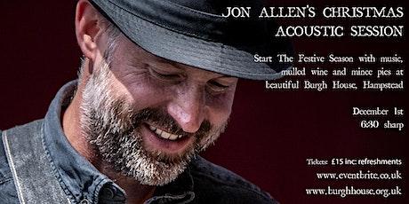 Jon Allen Christmas Acoustic Session tickets