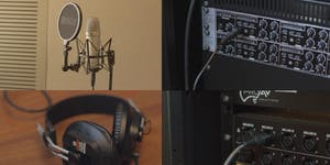 Recording Studio - Induction Assessment (Library at...