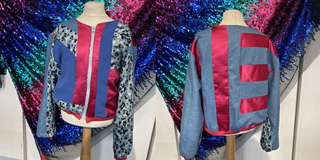Sew Your Own Sustainable Bomber Jacket, Kids Workshop Ages 7 - 11 tickets