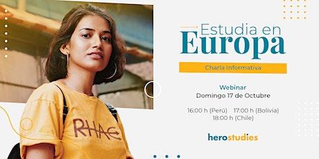 Estudiar en Europa entradas