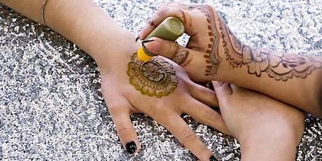 Makers & Bakers: Henna Mehndi Worshop tickets