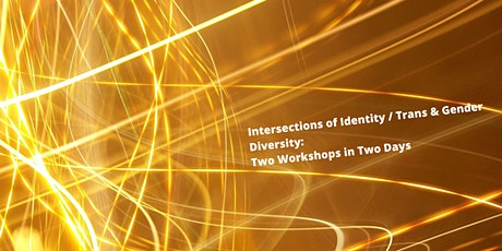 Intersections of Identity / Trans & Gender Diversity (two workshops) tickets