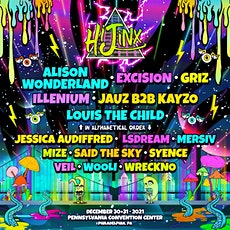 Hijinx NYE Festival on December 30-31st at the Philly Convention Center tickets