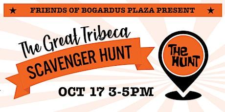 The Great Tribeca Scavenger Hunt October 17, 2021 tickets