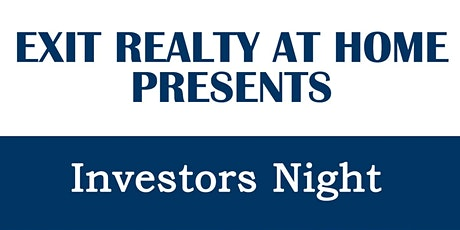 Investors Night With Exit Realty At Home tickets