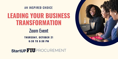 Leading Your Business Transformation tickets