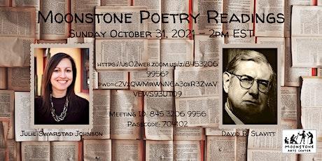 Virtual Poetry Reading: David R. Slavitt and Julie Swarstad Johnson tickets