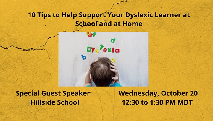 10 Tips to Help Support your Dyslexic Learner at School and at Home image