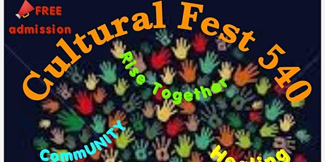 Cultural Fest 540 tickets