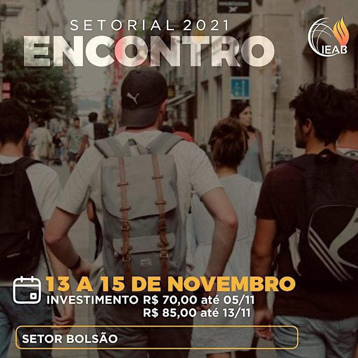 Imagem do evento SETORIAL 2021 - SETOR BOLSÃO