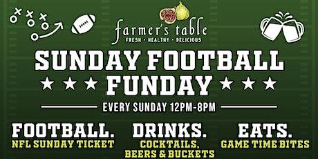 Sunday Football Sunday tickets
