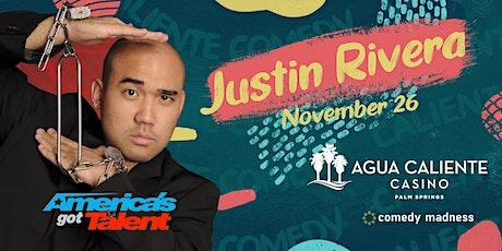 Comedy Magician Justin Rivera Agua Caliente Casino Caliente Comedy Nights tickets