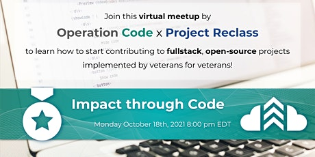 """Operation Code X Project Reclass """"Impact Through Code"""" tickets"""