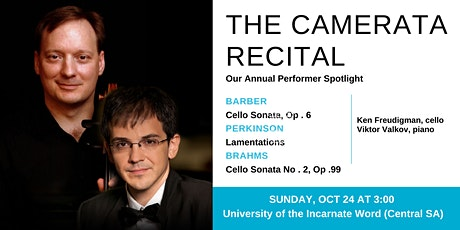 Camerata (Cello) Recital - Central SA tickets