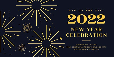 Inaugural RAH On the Mile's New Years Celebration 2022 tickets