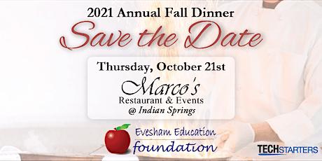 2021 Annual Fall Dinner tickets