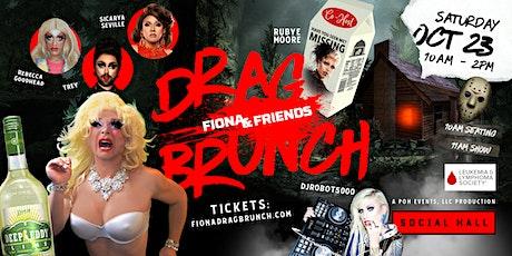 Fiona & Friends Drag Brunch   Drag Queen Show, Full Service & Liquid Brunch tickets