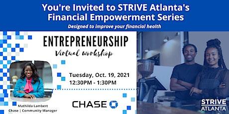 Your Financial Journey: Entrepreneurship tickets