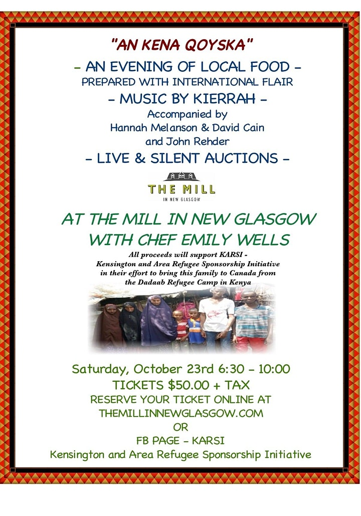 AN KENA QOYSKA     An Evening of Food and Music at The Mill image