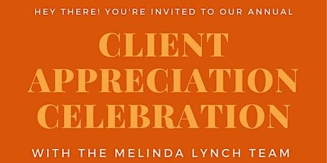 Melinda Lynch Team Client Appreciation Celebration tickets