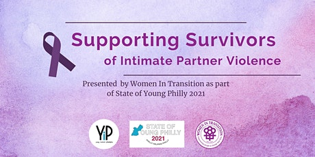 Supporting Survivors of Intimate Partner Violence (IPV) tickets