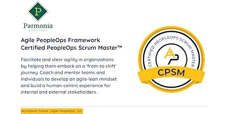 APF Certified PeopleOps Scrum Master™ (APF CPSM™)  Nov 1 - 2, 2021 tickets
