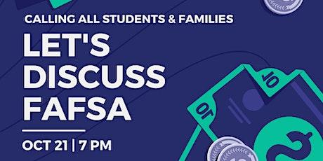 Let's Discuss FAFSA Workshop tickets