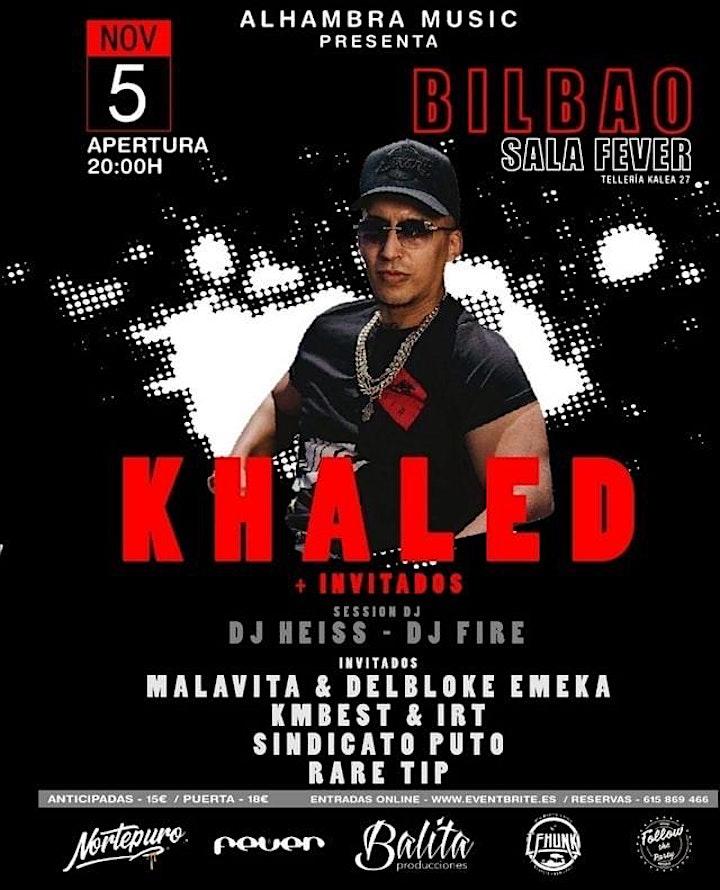 Imagen de Khaled concierto Bilbao 5 de Noviembre