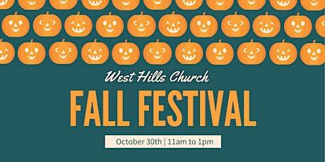West Hills Fall Festival tickets