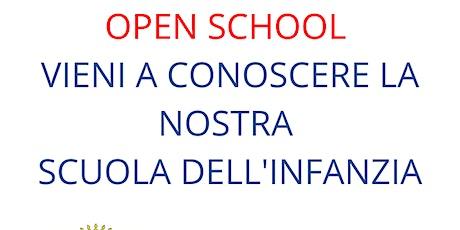 Vieni a visitare la nostra Scuola dell'Infanzia biglietti