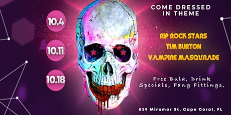 Halloween Edition - Themed Open Mic Night @ Botancial Brewing Company tickets