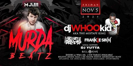 Murda Beatz w/ DJ Whoo Kid - Believe Music Hall - Friday, November 5th tickets