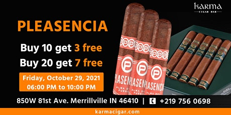 Plasencia Cigar and Bruichladdich Scotch Tasting Event tickets