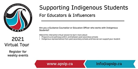 Supporting Indigenous Students: STEAM (Grade 7&8) tickets