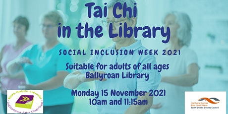 Tai Chi in the Library | Social Inclusion Week tickets