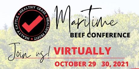 2021 Maritime Beef Conference/Congrès du Conseil du boeuf des Maritimes tickets