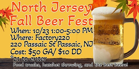 North Jersey Fall Beer Fest tickets